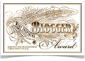 Very Inspiring Blogging Award