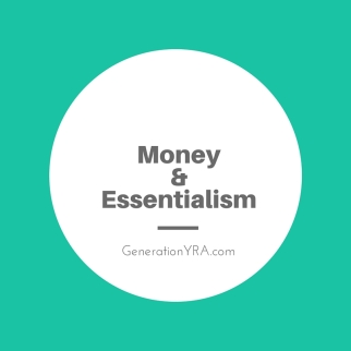 money & essentialism